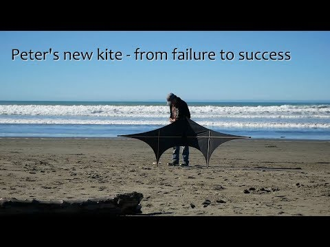 Peter's new kite - from failure to success