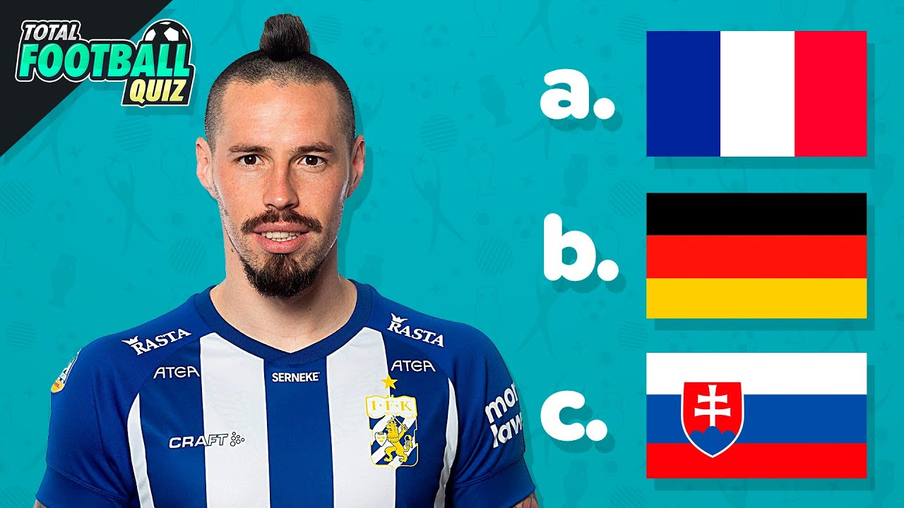 GUESS THE COUNTRY OF EACH PLAYER - EURO 2020 EDITION   QUIZ FOOTBALL 2021