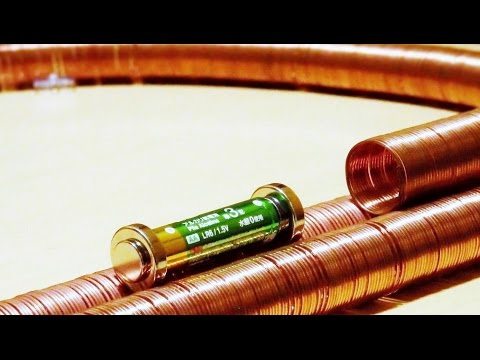 World's Simplest Electric Train 【Ver.2】