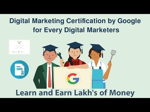 Digital Marketing Course with Certificate by Google in free | Hindi