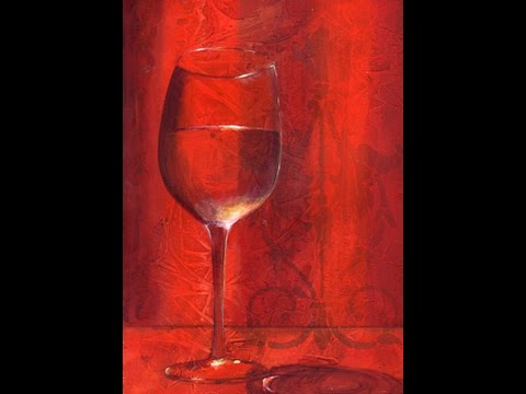 Vino - How to Paint Transparent Glass