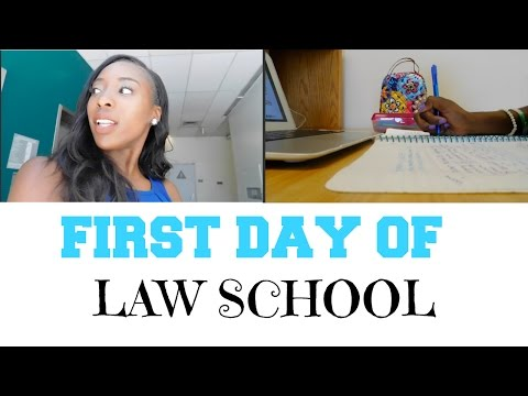 Law School Vlog. 1 | FIRST DAY OF SCHOOL