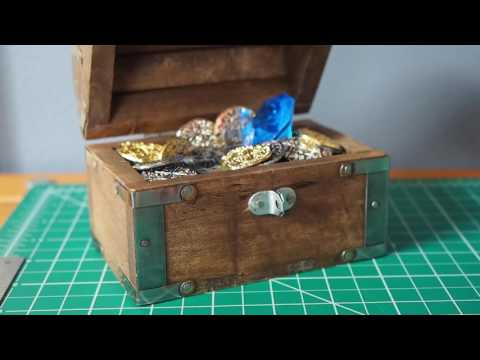Light Activated Treasure Chest DIY