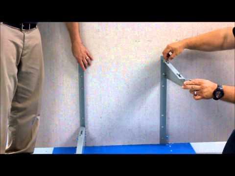 Air-Con International Outdoor Bracket Installation
