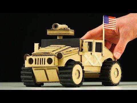 DIY Amazing TOY RC Car Cardboard Model