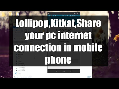 Share your PC Internet Connection with Android via USB(With out Rooting)