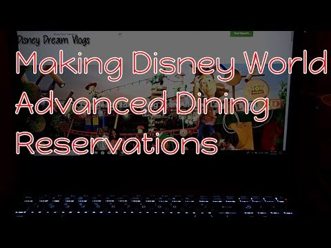 Disney World Vlog Advanced Dining Reservations Tips and Tricks | My Disney Dream Vlogs
