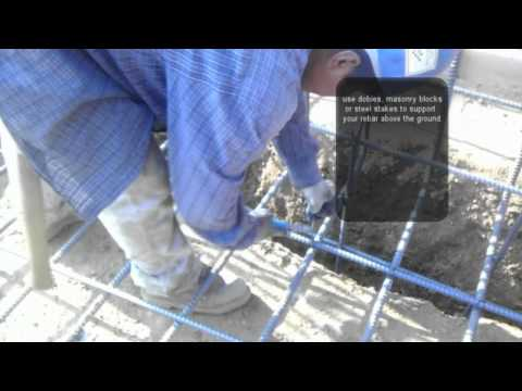 How to Place Rebar