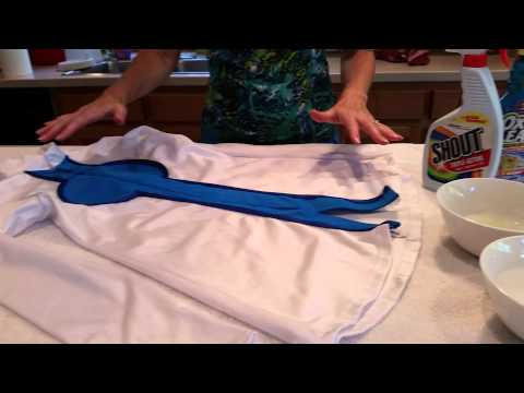 What you need/what to do to clean a costume