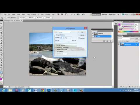 How Do You Compress a Photo in Photoshop? : Photoshop Elements