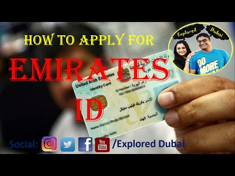 How to apply for Emirates ID