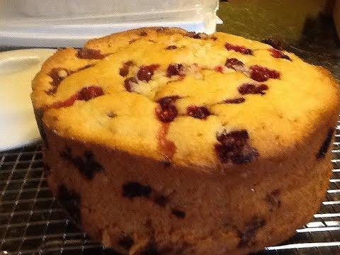 Traditional Newfoundland Baked Partridgeberry Pudding - Bonita's Kitchen