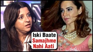 Zoya Akhtar SLAMS Kangana Ranaut For Manikarnika Controversy