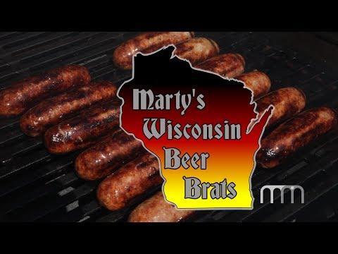 Marty's Wisconsin Beer Brats
