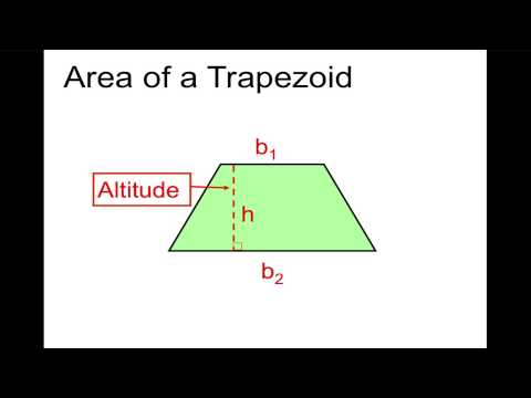 Perimeter and Area of Triangles and Trapezoids