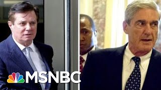 Robert Mueller Asked For Immunity For 5 Witnesses In Paul Manafort Case | Velshi & Ruhle | MSNBC