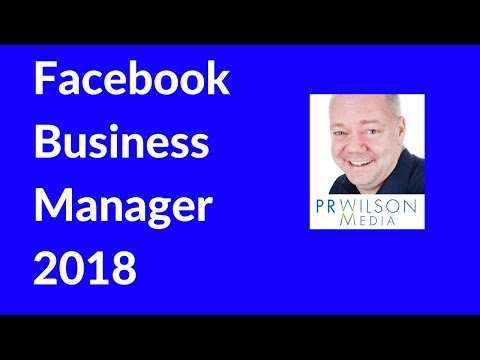 Facebook business manager 2018