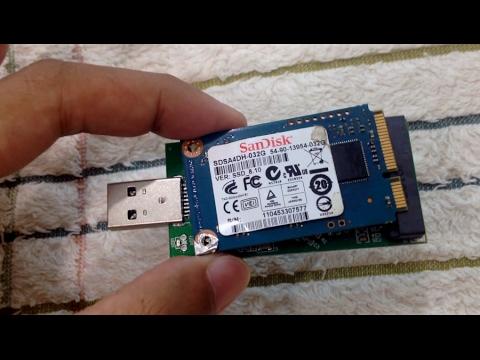 mSATA USB Reader Review