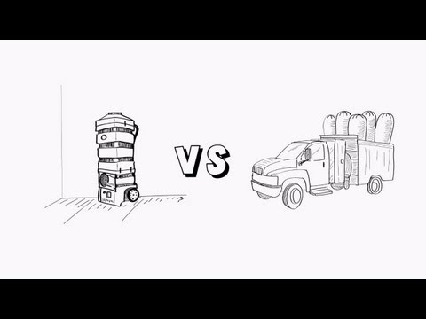 Duct Truck vs Portable Duct Cleaning Vacuum - Hypervac Technologies