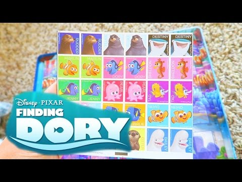FINDING DORY Magnetic Game | (Vlog)