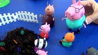 Игра Раскраска Свинки Пеппы и Джорджа - играть онлайн