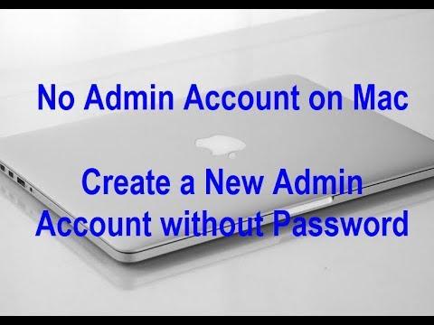 No Admin Account on Mac High Sierra? Here's the fix