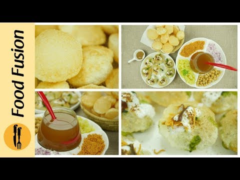 Pani Puri Recipe | Gol Gappa Recipe - By Food Fusion