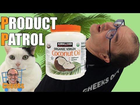 Costco Kirkland Signature Organic Virgin Coconut Oil Review: Cheeks