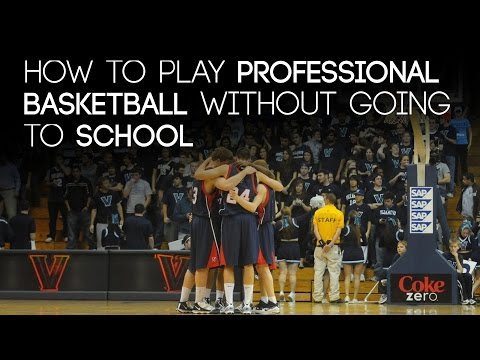 How To Play Pro Basketball Without Going To School | Overseas Basketball | Andreas Schreiber