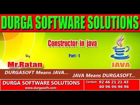 Corejava - Basics - Constructor in java Part - 1
