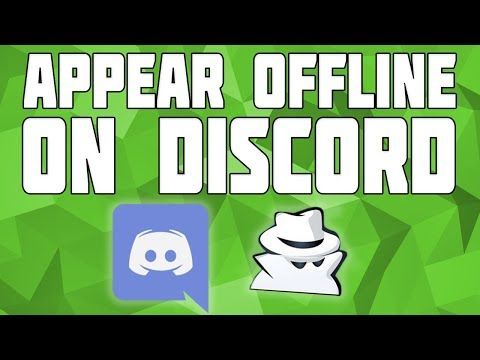 How to Appear offline on Discord! Be Invisible on Discord!