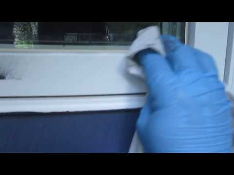 How to prepare vinyl window trim for painting