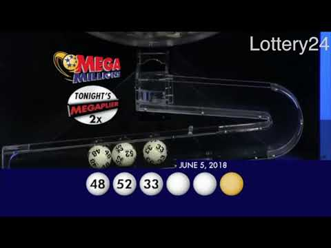 2018 06 05 Mega Millions Numbers and draw results