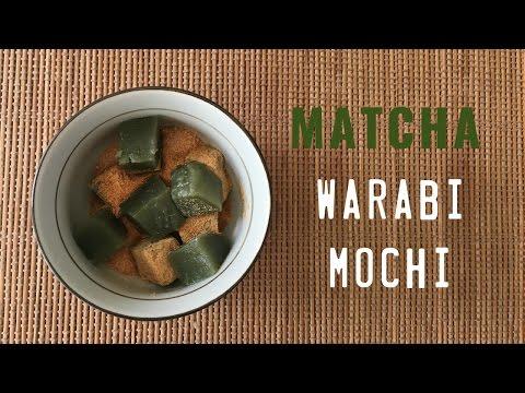 How to Make Matcha (Green Tea) Warabi Mochi