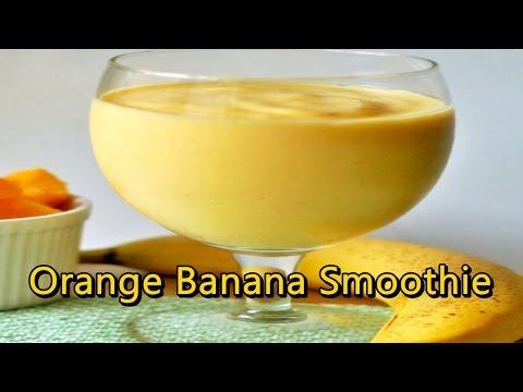 Smoothie With Orange Juice - Orange Banana Smoothie