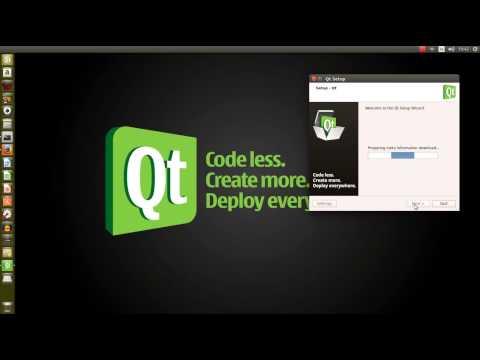 Install Qt Creator 5.3.1  on Ubuntu