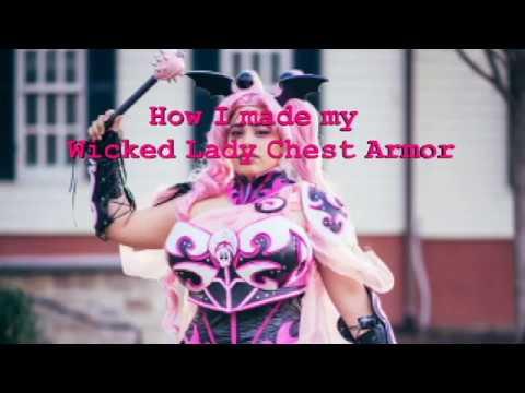 How to make Female EVA Foam Chest Armor