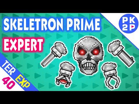 Skeletron Prime Expert contra Set Magico! • Terraria 1.3 Expert #40