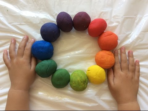 Learn Primary Colors, Secondary colors, Tertiary Colors for Kids/Preschool/ Toddlers Play Doh