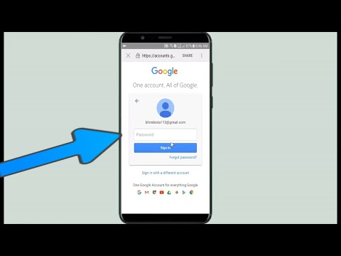 How To Change Forgotten Gmail Password In Samsung Or Android Phones 100% Working