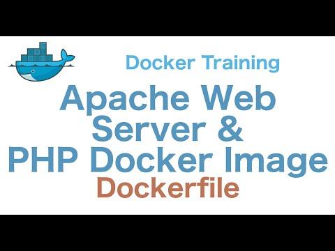 Docker Training 22/29: Apache Web Server and PHP Docker Image (Dockerfile)
