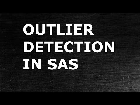 Regression Modeling: Detecting Outliers in Data