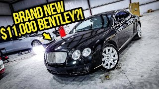 Here's How I Made My Dirty $11,000 Bentley Look BRAND NEW!!!