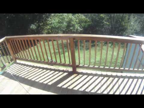 Deck Sealing with 12 Volt Pump Sprayer