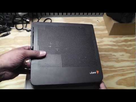Upgraded Internet Service and Ubee DVW3201B Unbox