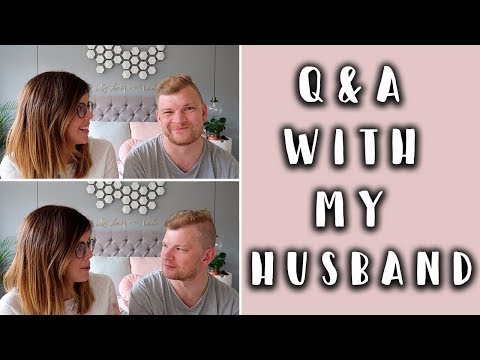 Q & A WITH MY HUSBAND... MORE BABIES? ARGUING? TRAVEL PLANS?