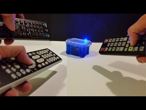 How to make an IR TV remote tester