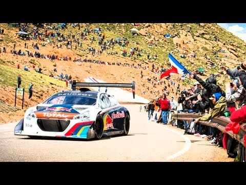 Sébastien Loeb's Record Setting Pikes Peak Run - Full POV