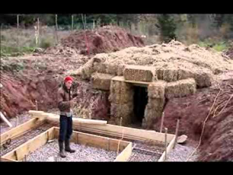 The Green Life Farm -Our Temporary Root Cellar.WMV