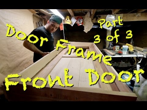 Making a Door Frame P3of3